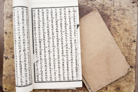 trigram: Chinese traditional medicine ancient book Editorial