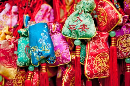 Chinese traditional sachet, New Years mascot, Clifford photo