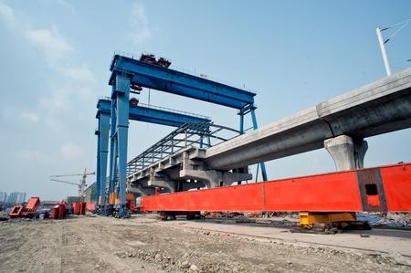 China, high-speed rail construction