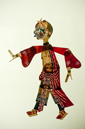 L'art chinois du th��tre d'ombres, un drame populaire ancienne, mille ans d'histoire
