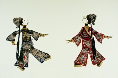 Chinese art of shadow play, an ancient folk drama, a thousand years of history Stock Photo - 13442303
