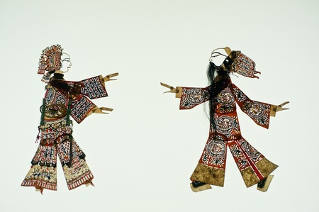 puppetry: Chinese art of shadow play, an ancient folk drama, a thousand years of history