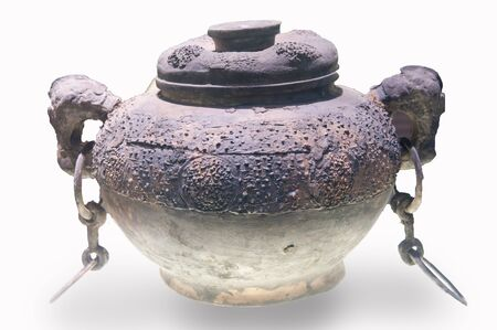 Chinese ancient bronze vessels, the Warring States period bronze (475 BC - 221 BC) Stock Photo - 13593678