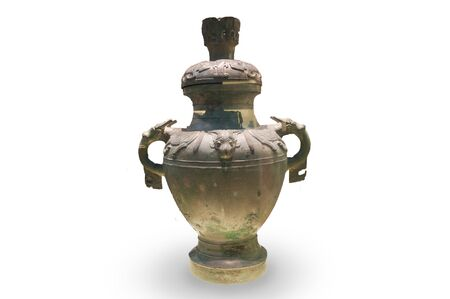 11th century: Chinese ancient bronze ware, bronze ware of Western Zhou Dynasty (11th century BC - 771 BC) Stock Photo