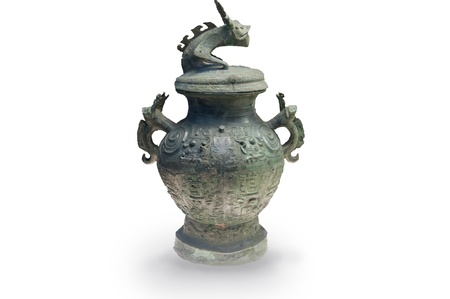 Chinese ancient bronze vessels, the Warring States period bronze (475 BC - 221 BC) photo