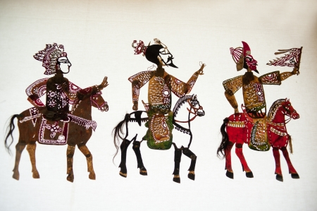 shadow puppets: Chinese Shadow Art