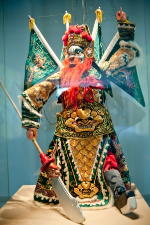 puppetry: Human sculptures in the puppet theater, Made in China