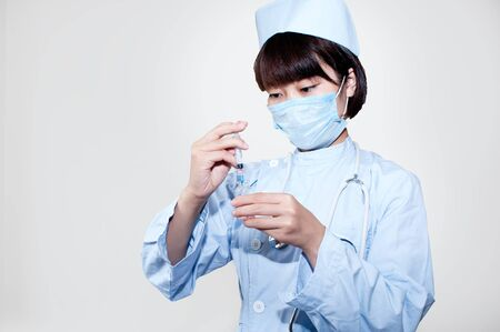 The work of nurse photo