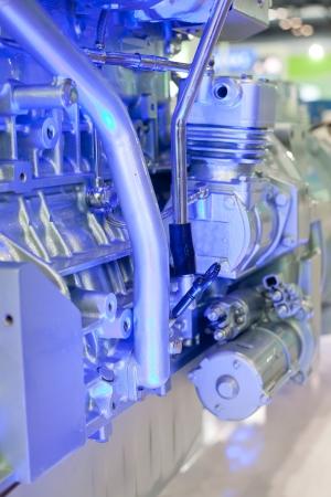 Battery car engine photo