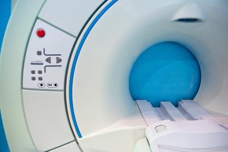 A medical equipment CAT scan machine