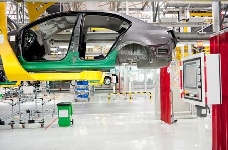 Automobile manufacture factory