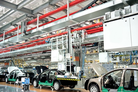 manufacture: Automobile manufacturing factory