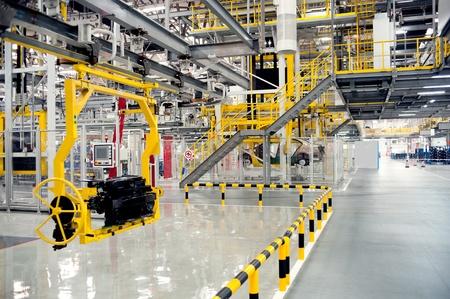 Automobile manufacturing factory Redakční