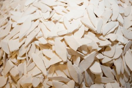 Chinese medicine raw materials, yam slices Stock Photo - 16418854