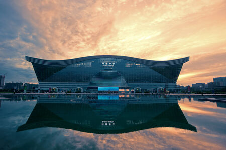 architectural lighting design: China Global Center in Chengdu