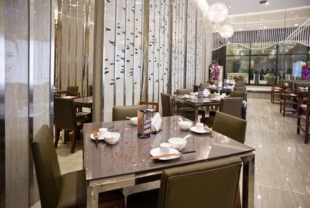 upscale: Upscale restaurant decoration