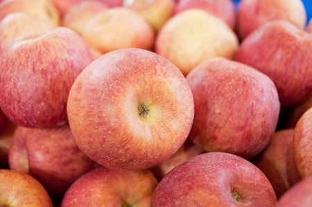 permutations: Red apples Stock Photo