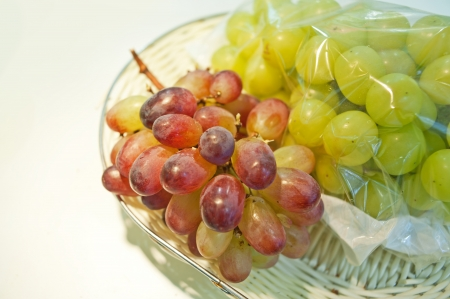 permutations: Fresh grapes