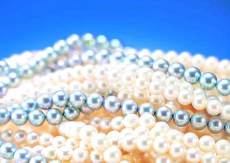 Pearl necklace, jewelry