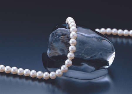 permutations: Pearl necklace, jewelry