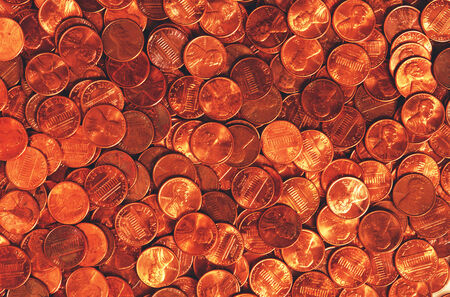 permutations: Coins, design material