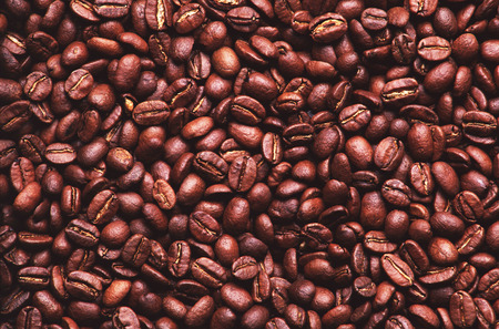 permutations:  Coffee beans, design material Stock Photo