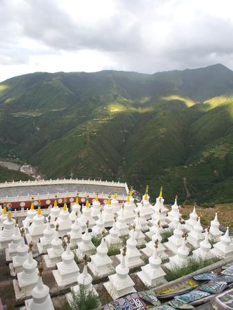 complications: Scenic beauty of Nianbaoyuze, Qinghai