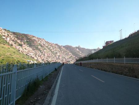 tibetan house: Scenery of Seda, Sichuan