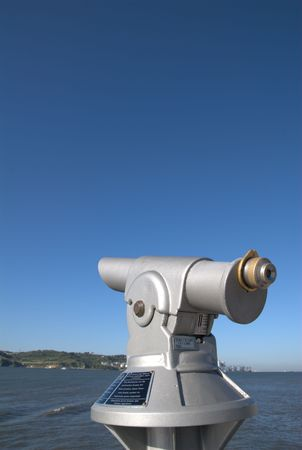 Public telescope photo