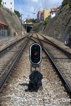 railtrack: Railtrack red signal