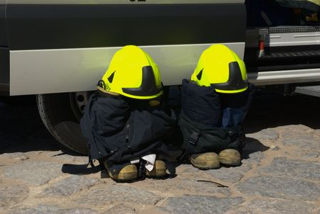 Firemen gear Stock Photo - 7085980