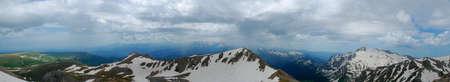 This is beautiful mountain northern caucasia. Rhoto - Russia, June 2009.
