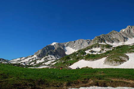 eminence: This is beautiful mountain landscape northern caucasia. Photo � Russia, june 2009.
