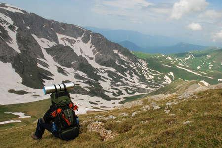 grassplot: This is beautiful mountain landscape northern caucasia. Photo � Russia, june 2009.