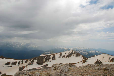 This is beautiful mountain landscape northern caucasia. Photo � Russia, june 2009.