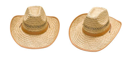 This Traditional American straw hat of cowboy