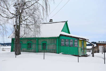 farmhouse somewhere in the depths of Russia