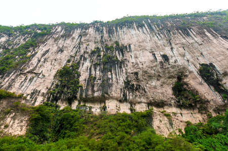 Journey to the tributary of the Yangtze with mountain views