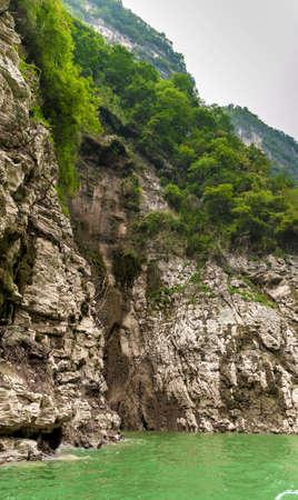 yangtze river: beautiful Chinese mountain in the Yangtze River