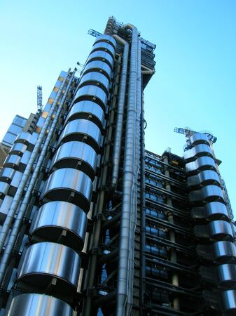 lloyds london: Lloyds Building, London. Stock Photo
