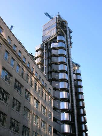 lloyds: Lloyds Building, London. Stock Photo