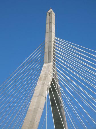 The Leonard P. Zakim Bunker Hill Bridge, Boston.
