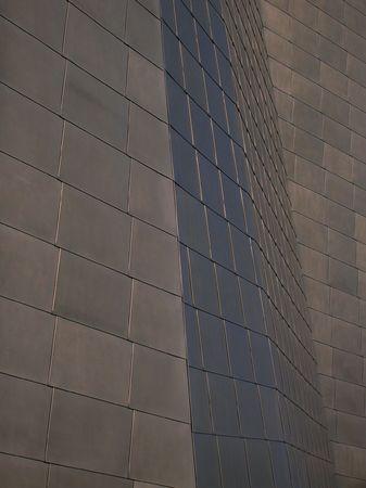Metal exterior wall