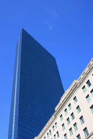 artdeco: The John Hancock Tower in Boston.