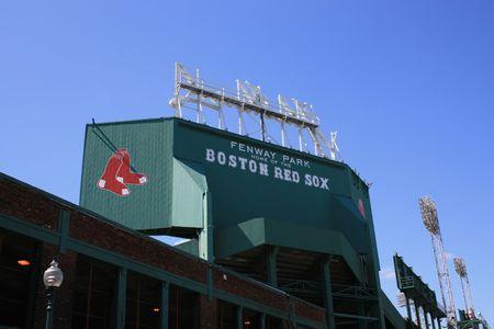 Fenway Park, Boston Stock Photo