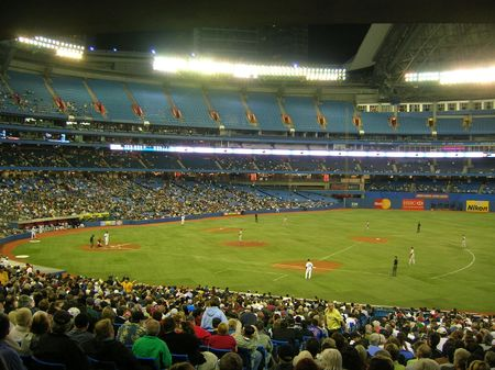 Rogers Centre (SkyDome), Toronto. Stock Photo