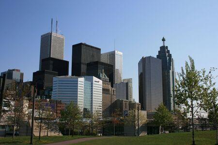 Downtown Toronto. Stock Photo