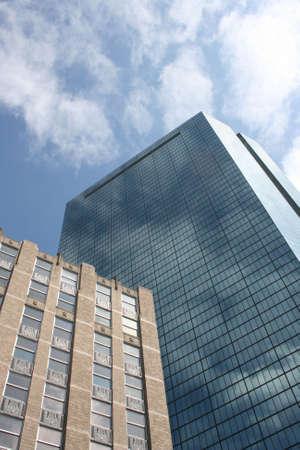 john hancock: Bostons John Hancock Tower Stock Photo