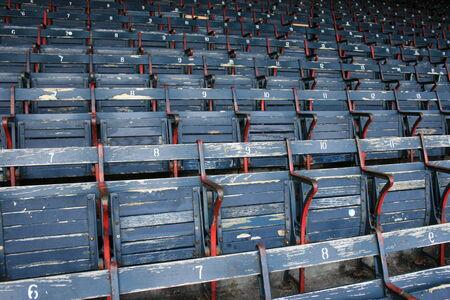 Seats at Fenway Park
