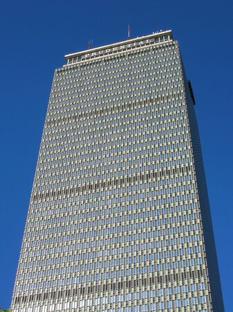 centrality: Bostons Prudential Tower. Stock Photo
